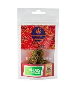 Alexis Haze legal weed