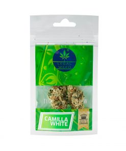 Camilla White legal weed