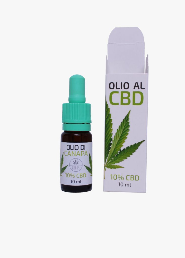 Olio CBD Fitocomplex legal weed